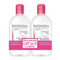 Bioderma Crealine H2O Micellar Solution 2 x 500ml