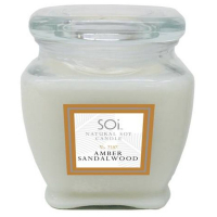 The SOi Company Bougie - Amber Sandalwood 510 g