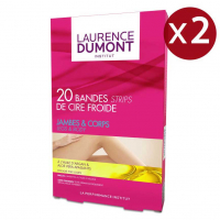 Laurence Dumont France Institut - Body And Legs Cold Wax Strips - 20 x