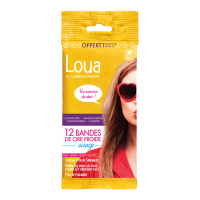Laurence Dumont France Loua - Cold Wax Strips Face - 12 Pcs. -