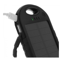 La Coque Francaise Solar Power Bank for Universal - Black