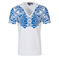 Just Cavalli Men's 'Body shaped' T-Shirt