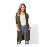 New York & Company Women's 'Hooded Duster' Cardigan