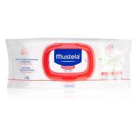 Mustela Baby - Soothing cleansing wipes without rinsing Very sensitive skin - 70 baby wipes
