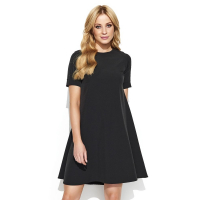 Makadamia Women's 'Midi' Short-Sleeved Dress
