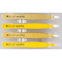 Brushworks HD-Kombinationspinzettensatz - Gold