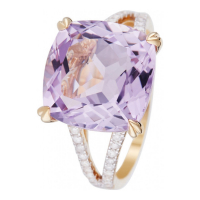 Diamond & Co 'Pink Fiction' Ring für Damen