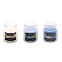 Candle-Lite 'Fresh Air Scented' Set of Candles - 85 g, 3 Units