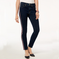 Tommy Hilfiger Women's 'Side-Stripe' Skinny Jeans