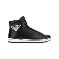 Prada Men's Logo patch sneakers