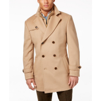 LAUREN Ralph Lauren Men's 'Labrada Double-Breasted' Peacoat