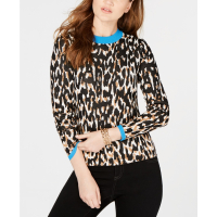 INC International Concepts I.N.C. Women's 'Animal-Print' Sweater