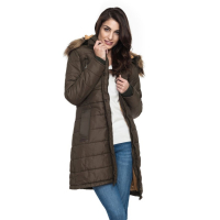 Javier Larrainzar Women's Padded Long Jacket