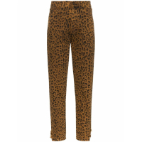 Saint Laurent Women's 'Leopard-Print' Trousers