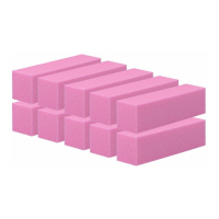 Tools For Beauty 4-sided nail block - set of 10