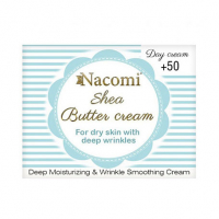 Nacomi Shea butter day cream with hyaluronic acid; 50+ - 50 ml