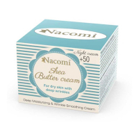 Nacomi Shea butter night cream with biomimetic peptides - 50 ml