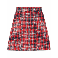 Gucci Women's 'Tweed Check A-Line' Skirt