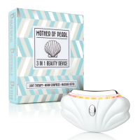 Faceology Mother of Pearl 3in1 Light Therapy Facial Device