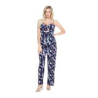 Guess Women's 'Soliana Printed Wide-Leg' Jumpsuit