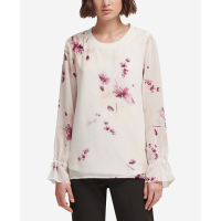 DKNY Women's 'Tie-Sleeve' Top