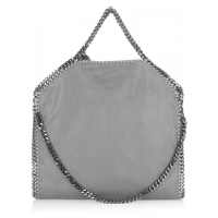 Stella McCartney 'Falabella Shaggy Deer Fold Over' Tote Bag