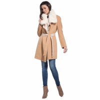 Intuition Paris Women's 'Camel' Coat