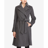 LAUREN Ralph Lauren Manteau 'Wool-Cashmere Blend Notch Collar Wrap' pour femmes