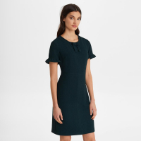 Karl Lagerfeld Women's 'Short Sleeve Crepe With Bow' Dress