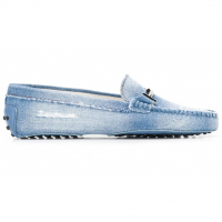 Tod's Women's 'Distressed denim' Loafers