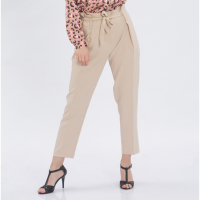 Zibi London Women's 'Tapered Belted' Trousers