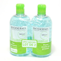 Bioderma 'Sebium H20' Micellar Water - 2 Units