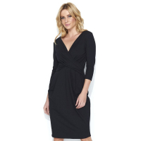 Makadamia Women's 'Midi' 3/4 Sleeved Dress
