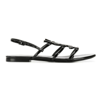 Saint Laurent Paris 'Logo' Sandalen für Damen
