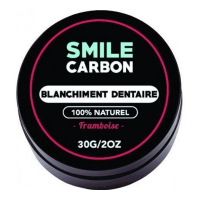 Smile Carbon Bleaching charcoal powder - Framboise 30 g