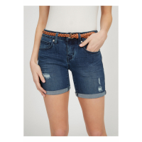 G by Guess 'Fin Curvy Denim' Bermuda Shorts für Damen