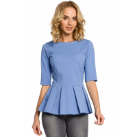 Made of Emotion Women's 3/4 Sleeve Blouse