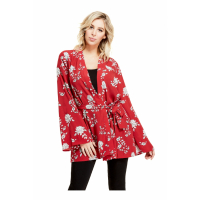Guess Women's 'Thora Printed' Poncho