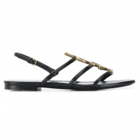 Saint Laurent Paris 'Cassandra' Sandalen für Damen