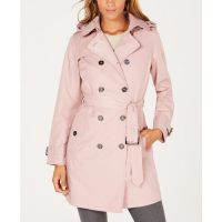 Michael Kors Women's 'Belted Double-Breasted' Trench Coat