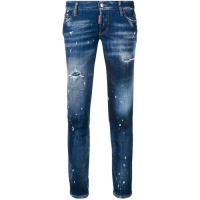 Dsquared2 Women's 'Bleached effect' Jeans