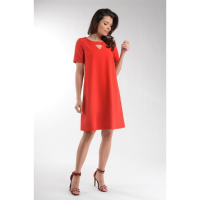 Naoko Women's Short-Sleeved Dress