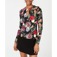 Guess Women's 'Kain Printed Keyhole' Top