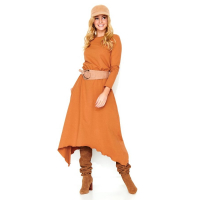 Makadamia Women's Long-Sleeved Dress