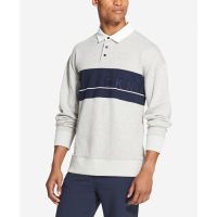 DKNY T-Shirt manches longues 'Woven Rugby' pour Hommes