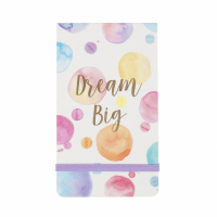 Sass and Belle 'Dream Big Paint Splash Pocket' Notizbuch
