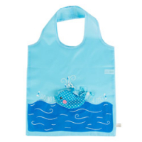 Sass and Belle 'Whale Foldable' Shoppingtasche