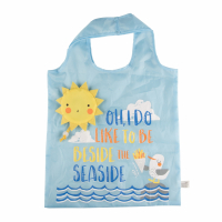 Sass and Belle 'Naughty Gull Foldable' Shoppingtasche