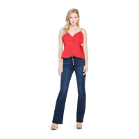 Guess Women's 'Kirca Button-Front Flare' Jeans