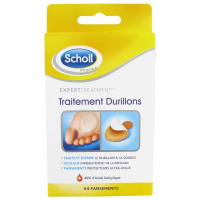 Scholl 'Coricidal Patches for Calluses' - 4 Units